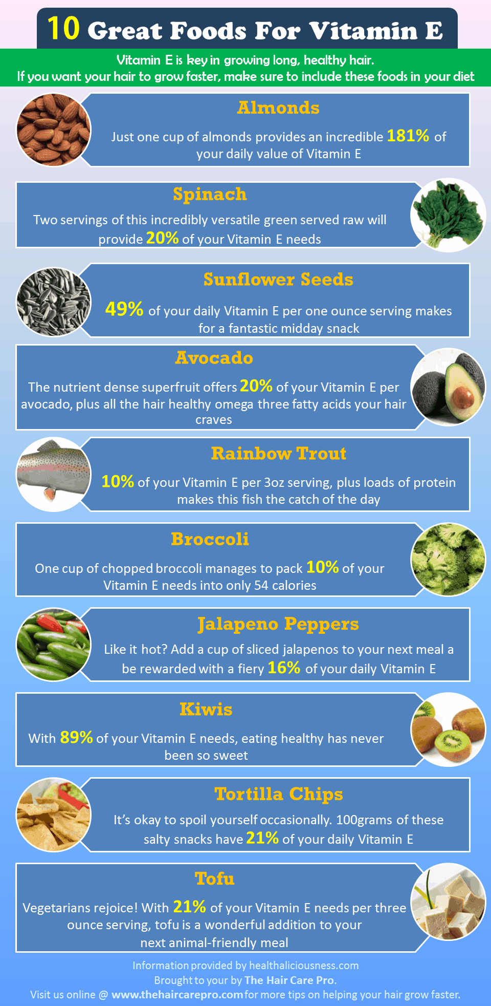 10 Foods High In Vitamin E
