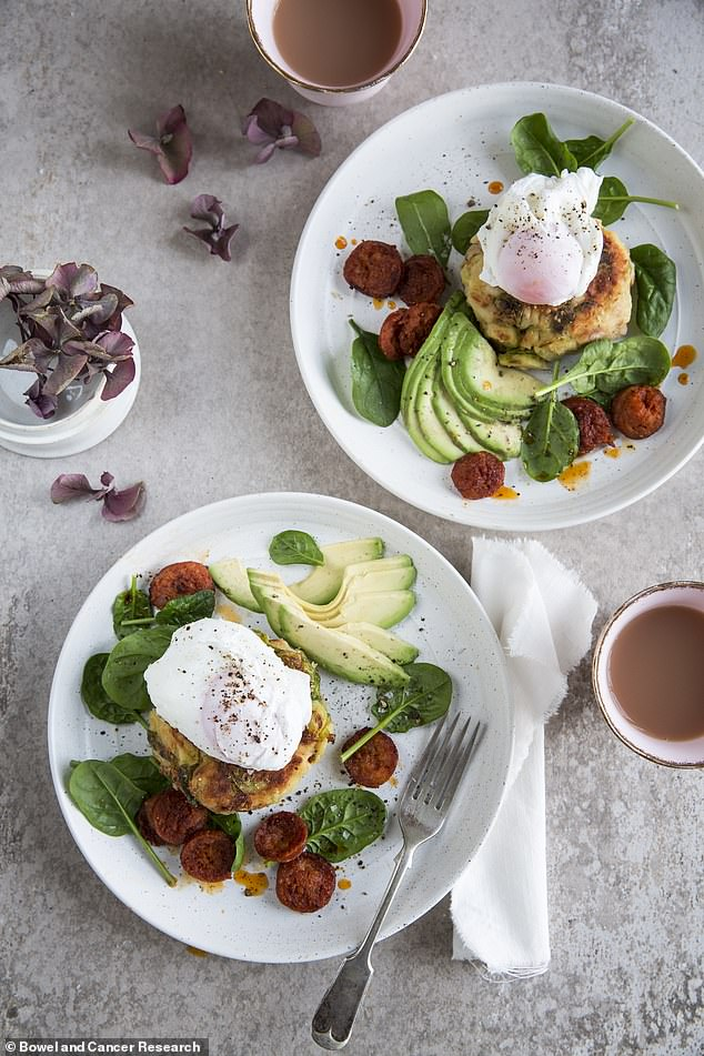 Mouth-watering breakfast: Use your sprouts to create this filling Boxing Day breakfast