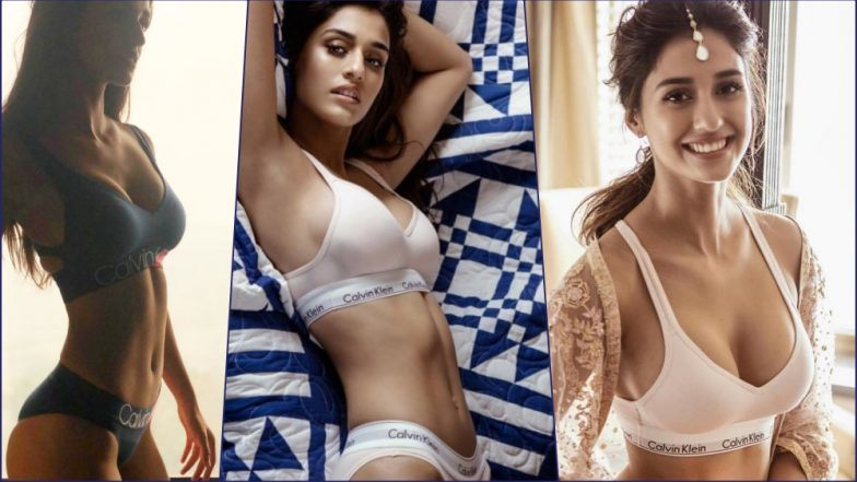 Disha Patani Pics in Sexy Calvin Klein: All the Time When Hot Indian Actress Breathed Fire With #MyCalvins on Instagram