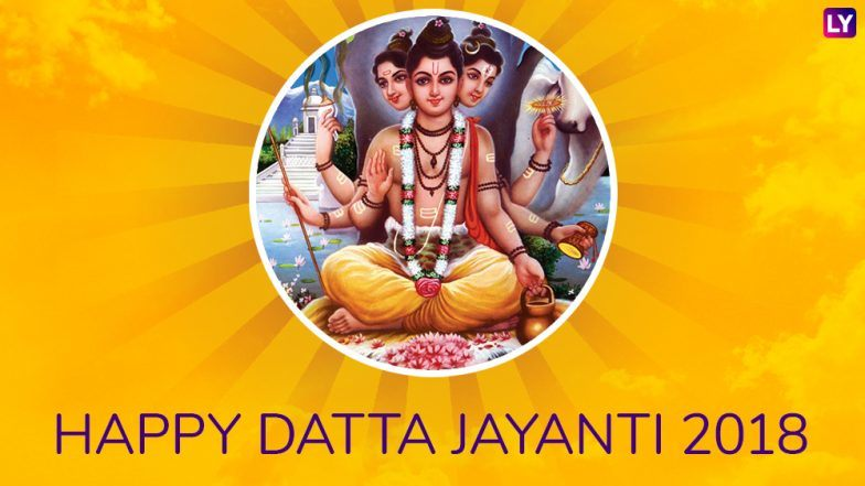 Datta Jayanti 2018 Photos: Best WhatsApp Image Messages, Pictures and Wallpapers To Send Wishes on This Auspicious Day