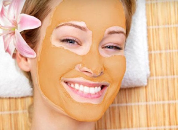 orange face pack for fair skin