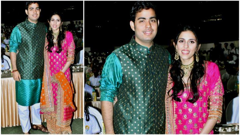 Akash Ambani Serenades Fiancee Shloka Mehta With Compliments and Leaves Her Blushing - Watch Video