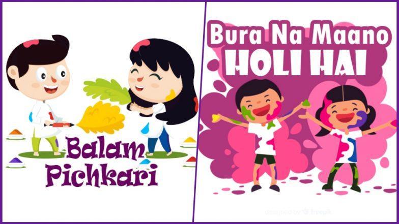 Happy Holi 2019 WhatsApp Stickers and Images: Dhulandi Greetings, Facebook Photos and Wishes to Celebrate Joyous Holi