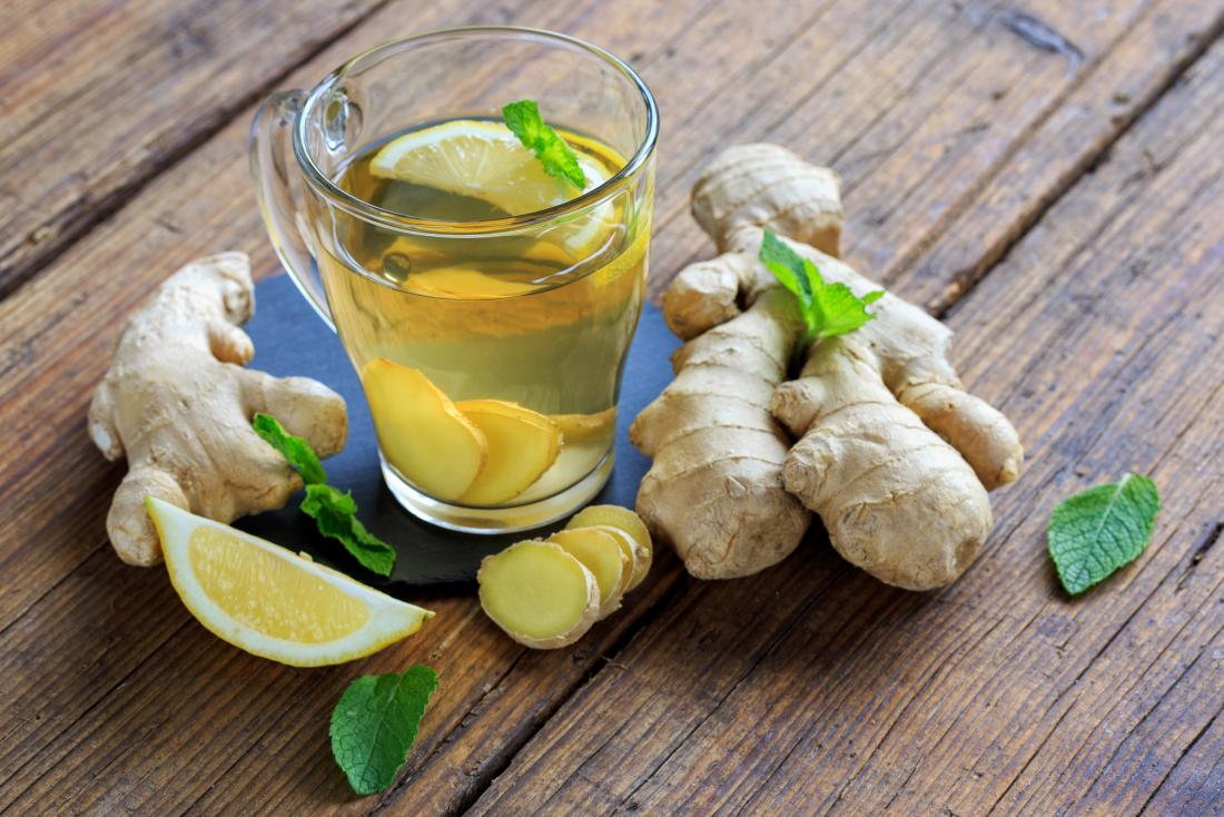 Loss of appetite and nausea ginger tea