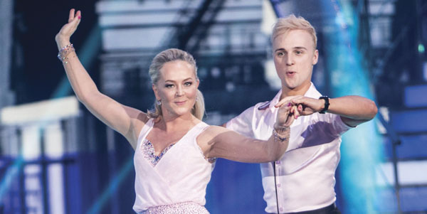Eva Orsmond on Dancing With The Stars