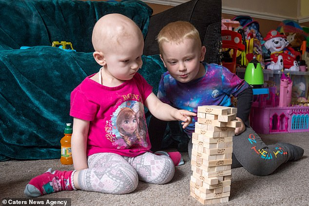 Now home, the 'adorable' siblings have an 'unbreakable bond' and love playing together