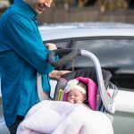 Infant car seats are for cars only (how not to use an infant car seat)
