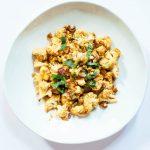 Spicy Tahini Roasted Cauliflower