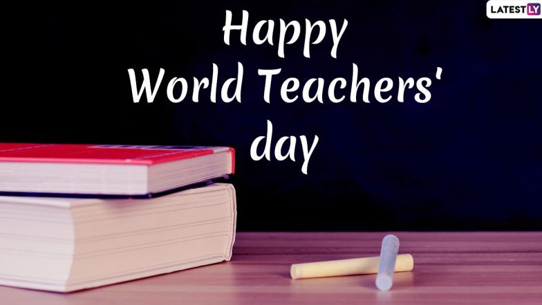 Happy Teachers' Day 2019 Wishes: WhatsApp Stickers, GIF Image Messages, Quotes and SMS to Send to Your Mentors on World Teachers' Day