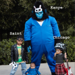 Kim Kardashian Just Shared Pics of Her Family's THIRD Group Halloween Costume