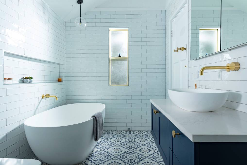 DETAILS: Recessed shelves can be built almost anywhere in the bathroom and are the perfect solution for small, cluttered and disorganised spaces.