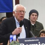 Sanders interrupted by union protesters against 'Medicare for all'