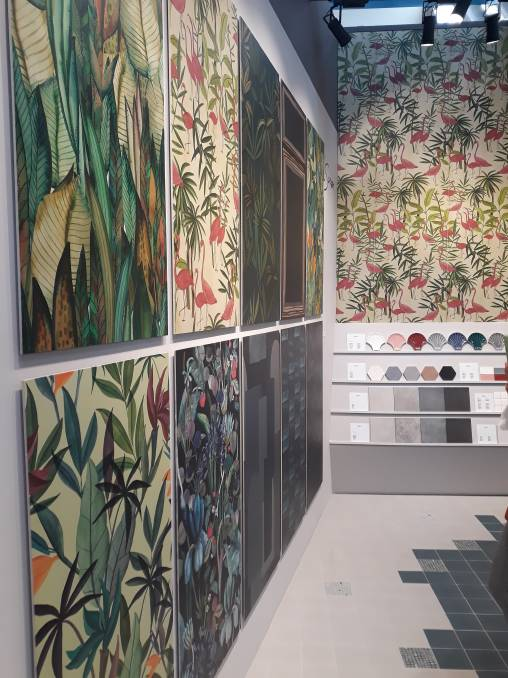 Environment: Palette direction is most certainly bringing a broader social consciousness around the environment to the fore, with green and organic variations taking the leading cue at Cersaie