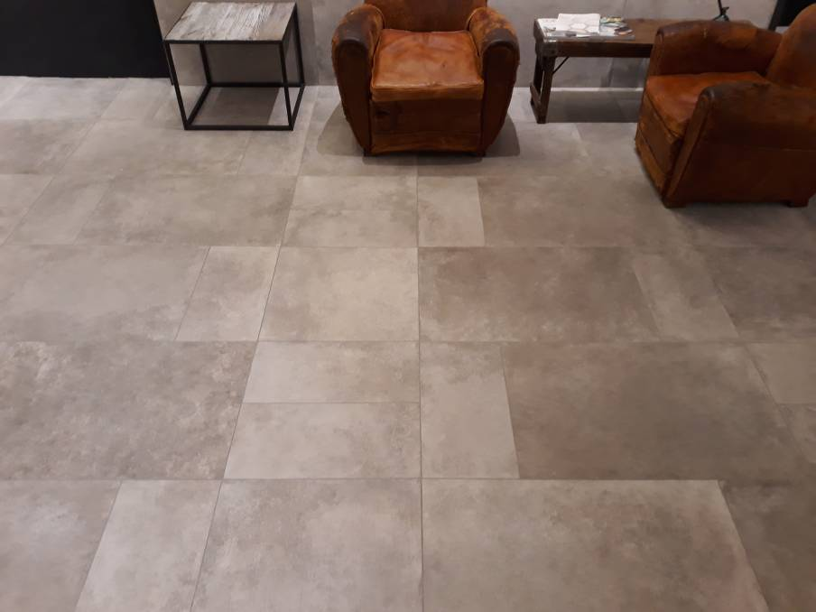 Rustrial: Expect to see much finer concrete slab looks, which are much softer and more delicate than their ancestors.