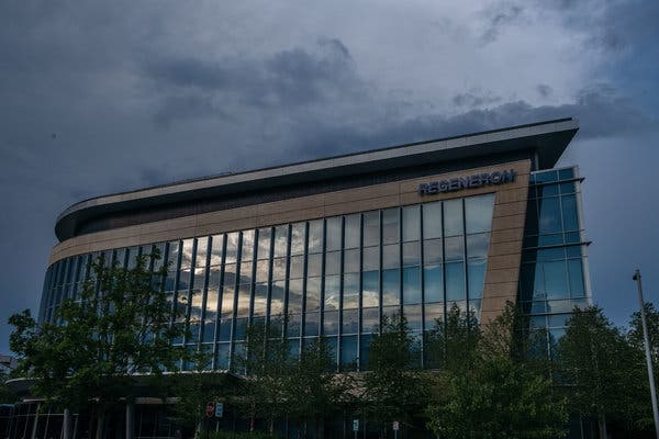 The Westchester campus of the pharmaceutical company Regeneron.