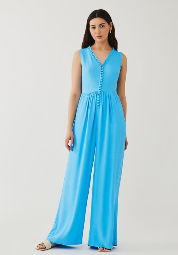 Ghost Jumpsuit Blue new Your summer wardrobe sorted