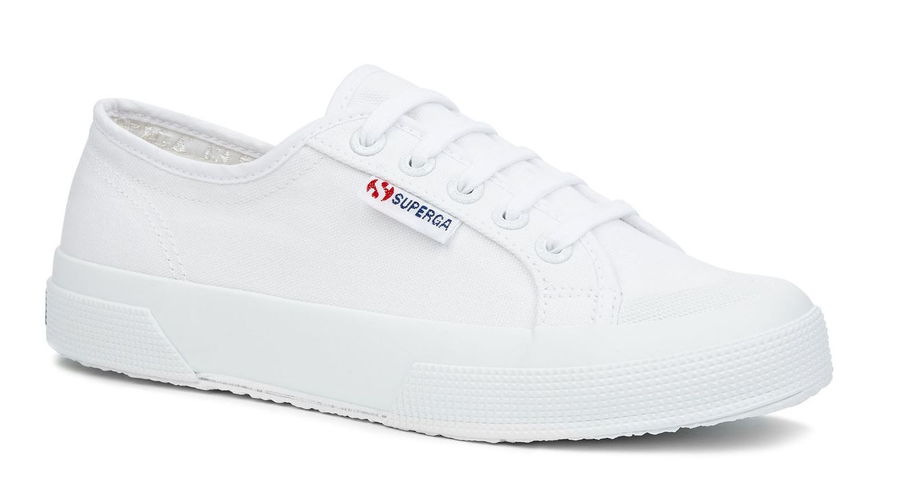 superga white canvas